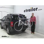 Thule Archway Trunk Bike Racks Review - 2016 Jeep Patriot