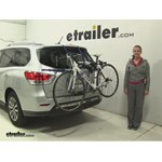 Thule Archway Trunk Bike Racks Review - 2016 Nissan Pathfinder