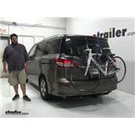 Thule Archway Trunk Bike Racks Review - 2016 Nissan Quest