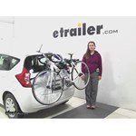 Thule Archway Trunk Bike Racks Review - 2016 Nissan Versa Note