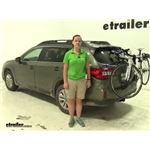 Thule Archway Trunk Bike Racks Review - 2016 Subaru Outback Wagon