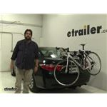 Thule Archway Trunk Bike Racks Review - 2016 Toyota Camry