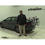 Thule Archway Trunk Bike Racks Review - 2016 Volkswagen Jetta
