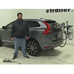 Thule Archway Trunk Bike Racks Review - 2016 Volvo XC60