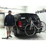 Thule Archway Trunk Bike Racks Review - 2017 Dodge Grand Caravan