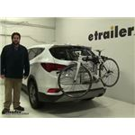 Thule Archway Trunk Bike Racks Review - 2017 Hyundai Santa Fe