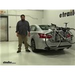 Thule Archway Trunk Bike Racks Review - 2017 Nissan Altima
