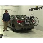 Thule Archway Trunk Bike Racks Review - 2017 Toyota Corolla