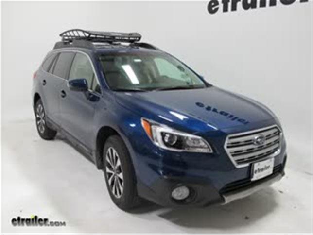 Subaru Roof Basket >> Best Subaru Outback Wagon Roof Basket Etrailer Com