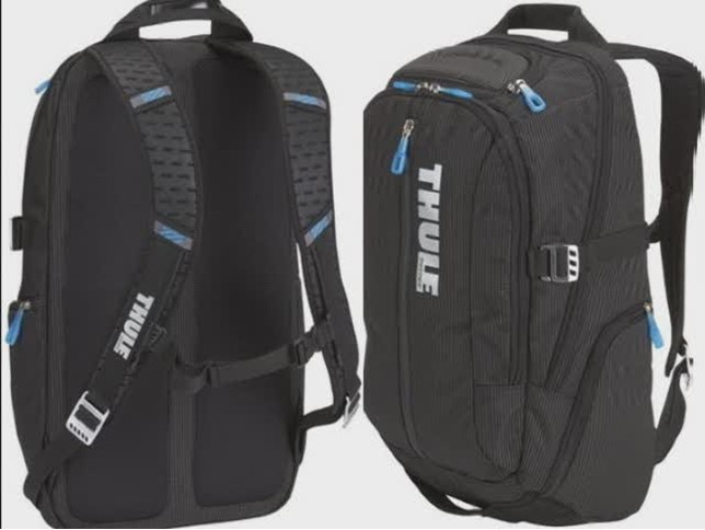Thule Crossover 25 Liter MacBook Laptop Backpack Review Video ...