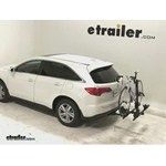Thule Doubletrack Hitch Bike Rack Review - 2013 Acura RDX