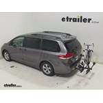 Thule Doubletrack Hitch Bike Rack Review - 2014 Toyota Sienna