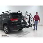 Thule Doubletrack Hitch Bike Racks Review - 2014 Jeep Grand Cherokee