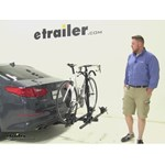 Thule Doubletrack Hitch Bike Racks Review - 2014 Kia Optima