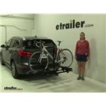 Thule Doubletrack Hitch Bike Racks Review - 2017 BMW X1