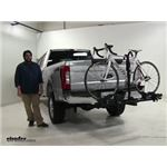 Thule Doubletrack Hitch Bike Racks Review - 2017 Ford F-250 Super Duty