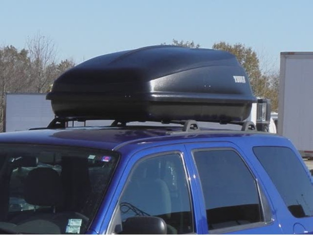 Thule Excursion Roof Mounted Cargo Box Review