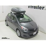 Thule Force Medium Rooftop Cargo Box Review - 2014 Toyota Yaris
