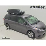 Thule Force XXL Rooftop Cargo Box Review - 2014 Toyota Sienna