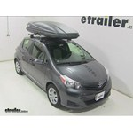 Thule Force XXL Rooftop Cargo Box Review - 2014 Toyota Yaris