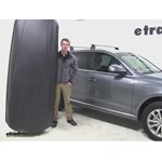 Thule Force XXL Roof Cargo Carrier Review - 2013 Audi Q5