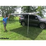 Thule Roof Rack Mount HideAway Awning Review and Installation