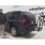Thule  Hitch Bike Racks Review - 2002 GMC Envoy