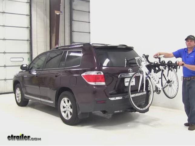 Thule Hitch Bike Racks Review 2011 Toyota Highlander Video