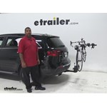 Thule  Hitch Bike Racks Review - 2012 Acura MDX
