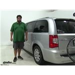 Thule  Hitch Bike Racks Review - 2012 Chrysler Town and Country