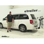 Thule  Hitch Bike Racks Review - 2012 Dodge Grand Caravan