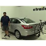 Thule  Hitch Bike Racks Review - 2012 Ford Focus