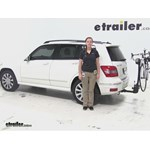Thule  Hitch Bike Racks Review - 2012 Mercedes-Benz GLK-Class