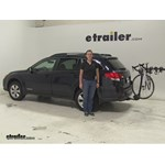 Thule  Hitch Bike Racks Review - 2012 Subaru Outback Wagon