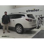 Thule  Hitch Bike Racks Review - 2013 Chevrolet Traverse