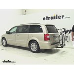 Thule  Hitch Bike Racks Review - 2013 Chrysler Town and Country