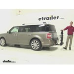 Thule  Hitch Bike Racks Review - 2013 Ford Flex