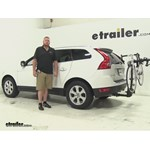 Thule  Hitch Bike Racks Review - 2013 Volvo XC60