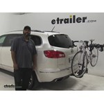 Thule  Hitch Bike Racks Review - 2014 Buick Enclave
