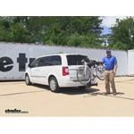 Thule  Hitch Bike Racks Review - 2014 Chrysler Town and Country