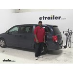 Thule  Hitch Bike Racks Review - 2014 Dodge Grand Caravan