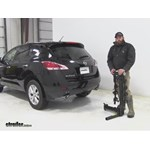 Thule  Hitch Bike Racks Review - 2014 nissan murano