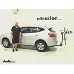 Thule  Hitch Bike Racks Review - 2014 Nissan Rogue Select