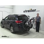 Thule  Hitch Bike Racks Review - 2014 Subaru Outback Wagon