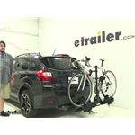 Thule  Hitch Bike Racks Review - 2014 Subaru XV Crosstrek