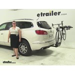 Thule  Hitch Bike Racks Review - 2015 Buick Enclave