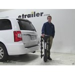 Thule  Hitch Bike Racks Review - 2015 Chrysler Town and Country