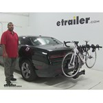 Thule  Hitch Bike Racks Review - 2015 Dodge Challenger