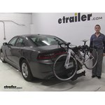 Thule  Hitch Bike Racks Review - 2015 Dodge Charger