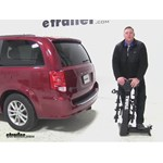 Thule  Hitch Bike Racks Review - 2015 Dodge Grand Caravan